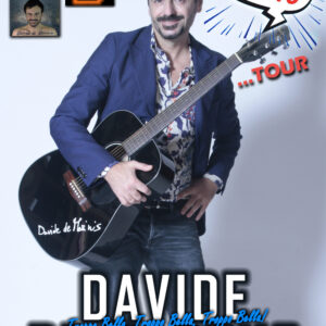 Davide De Marinis è un cantante e cantautore