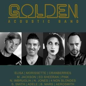 Diego De Luca chitarrista Golden Acustic Band