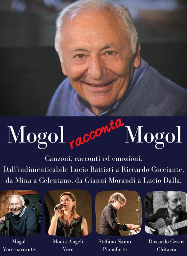 Mogol è un paroliere, produttore discografico e scrittore italiano